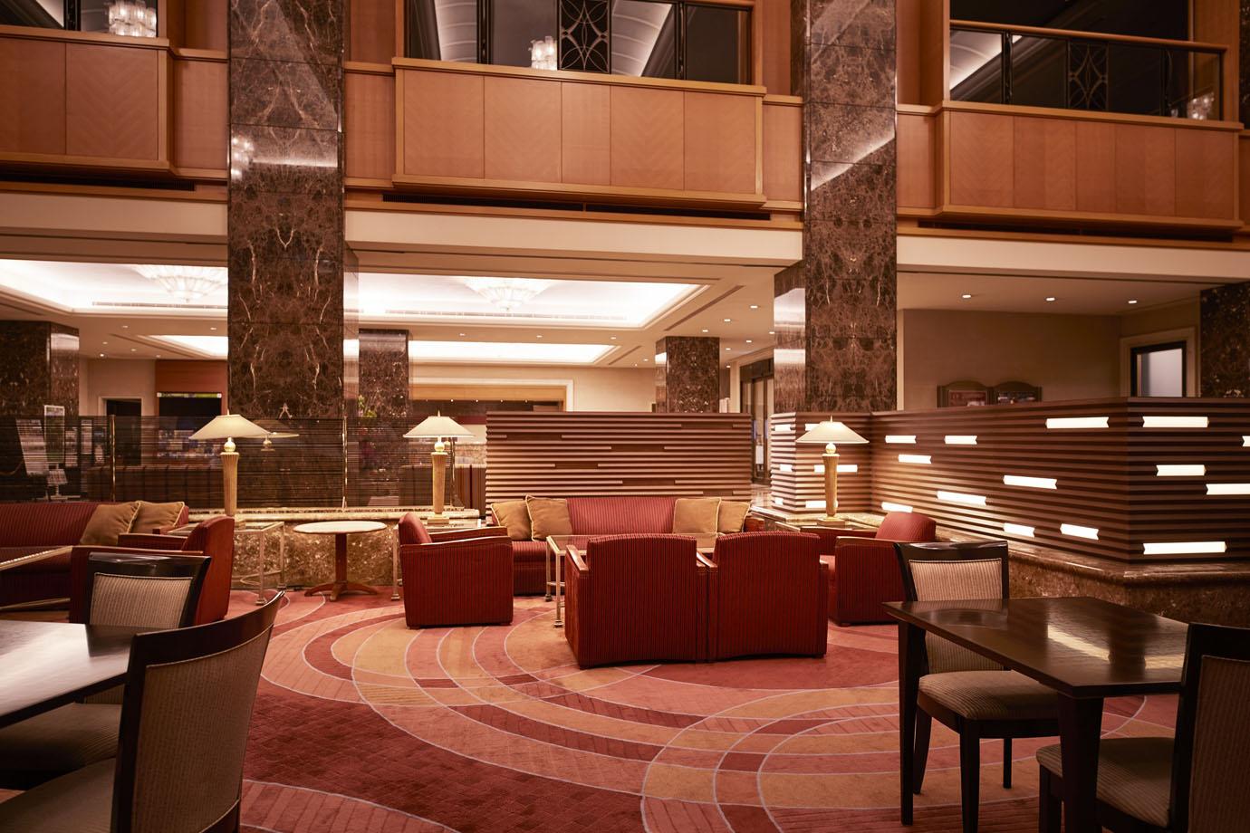 ロビーラウンジ | 長野のホテルならホテルメトロポリタン長野【公式】